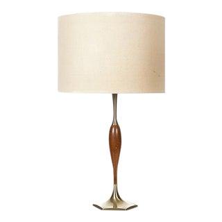 Vintage 1960s Laurel Lamp with Walnut Wood