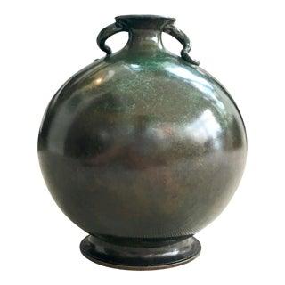 Just Anderson Round Bronze Vase