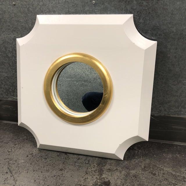 Palecek Andaz White Mirror - Image 2 of 7