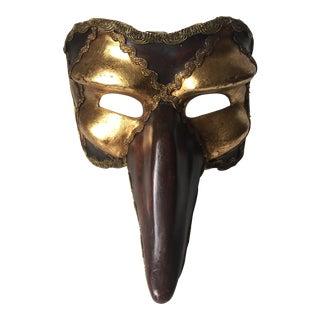 Vintage Venetian Papier Mache Mask
