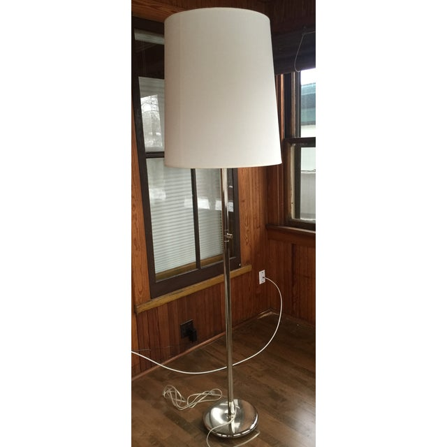 Image of Room & Board Silver Buster Floor Lamp