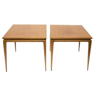 Erwin Lambeth for Thomasville Sculptural Side Tables - A Pair