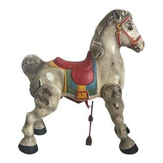 Vintage English Child's Riding Horse