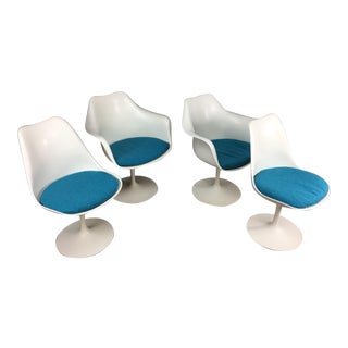 Eero Saarinen Tulip Dining Chairs - Set of 4