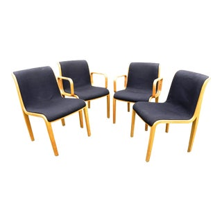 Vintage Knoll Maple Chairs - Set of 4