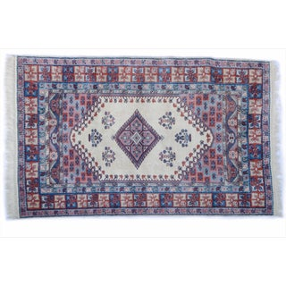"Vintage Turkish Tribal Rug 'Sabiya' - 5'6"" X 8'6"""
