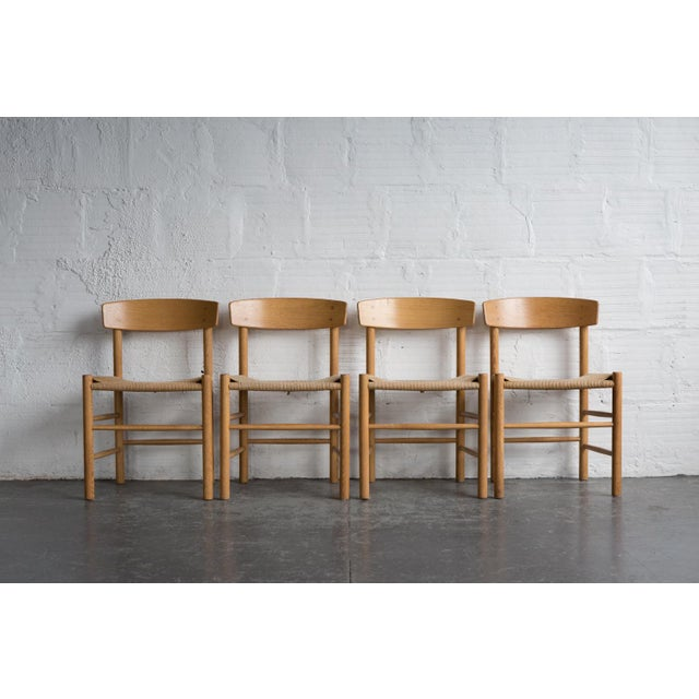 Borge Mogensen J-39 Dining Chairs - Set of 4 - Image 2 of 11