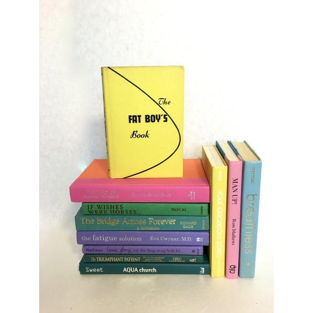 Brightly Colored Decorative Books - Set of 11 - Image 3 of 6