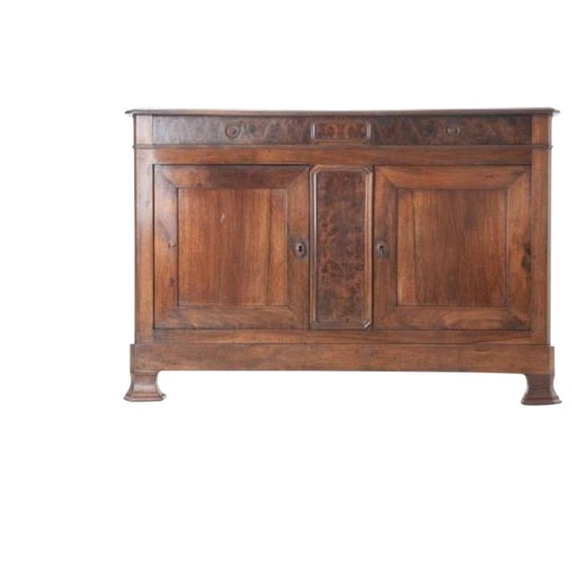French 19th Century Walnut Louis Philippe Buffet - Image 1 of 10