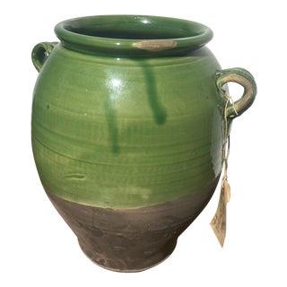 Antique Italian Olive Oil Jar