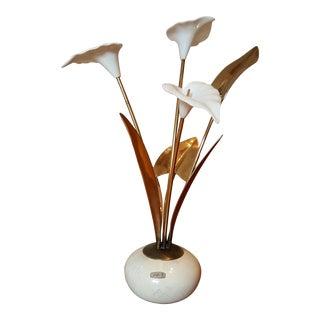 Bijan Table Flowers Sculpture