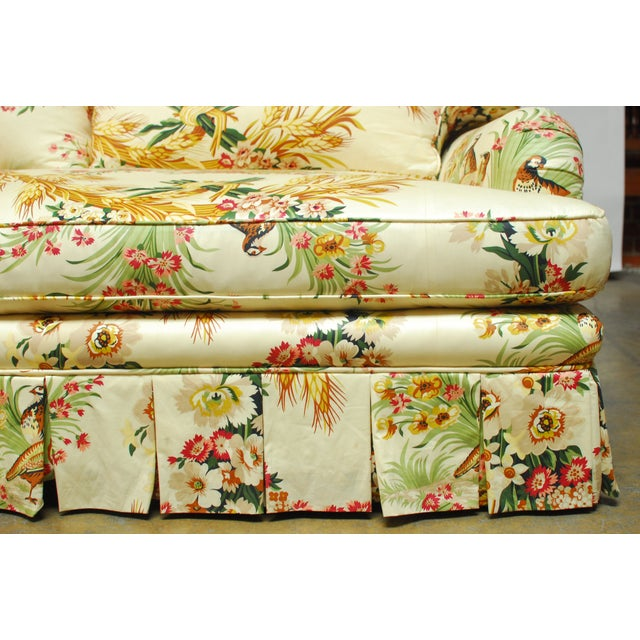 Brunschwig & Fils French Upholstered Toile Sofa - Image 8 of 10