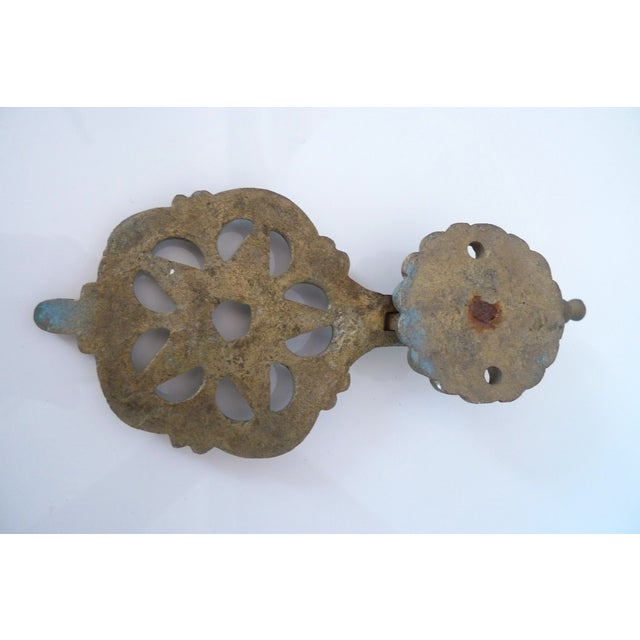 Antique Moroccan Brass Door Knocker - Image 5 of 7