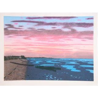 Bill Sullivan - Low Tide 2 Hand Colored Lithograph