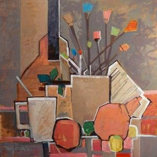 An Artist's Table by Michael Jones