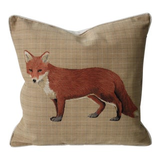 Fox Tapestry Pillow Cover