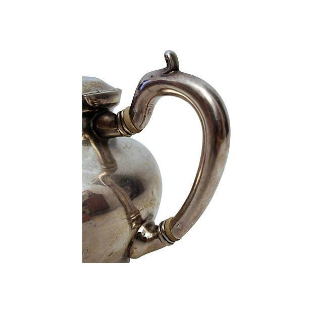Sterling Silver Teapot - Image 5 of 6