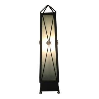 Oversize Iron Obelisk Lamp