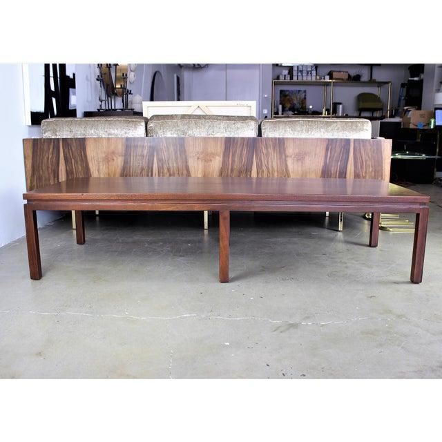 Harvey Probber Mahogany Coffee Table - Image 6 of 8