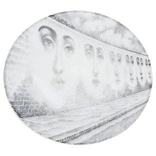 Tema E Variazione' Porcelain Plate by Piero Fornasetti
