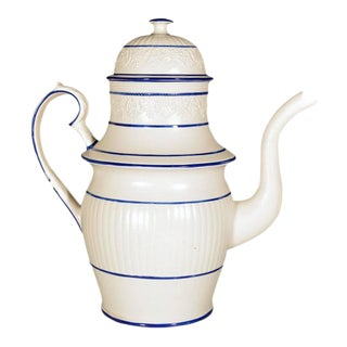 Castleford-Type Pottery Coffee Pot & Cover