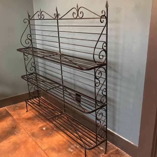 Wrought Iron Baker's Rack - Image 5 of 7