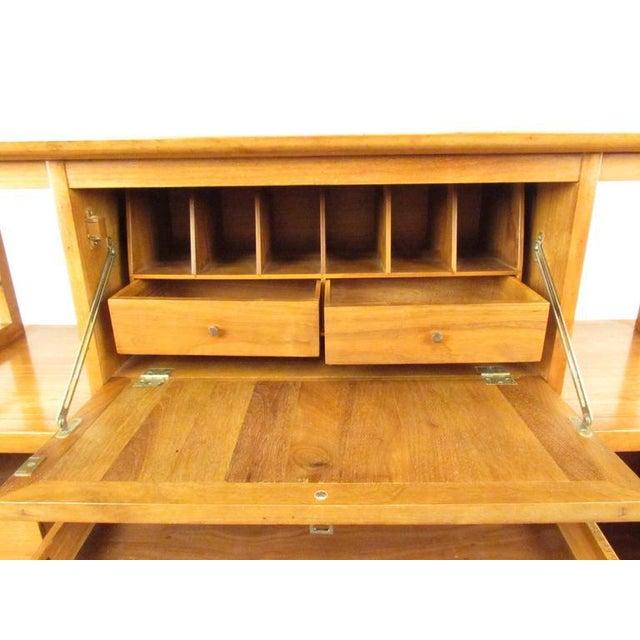 Stiehl Furniture Mid-Century Workstation - Image 4 of 9