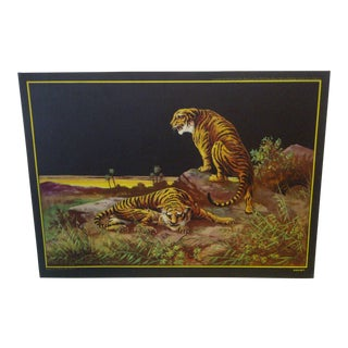 """Vintage Print of J. Halford Ross """"Doubt"""" Painting"""