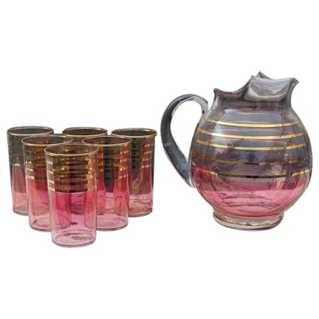 Early 20th-Century Lemonade Set - Image 1 of 7