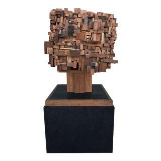 Mid-Century Modern Brutalist Style Sculpture