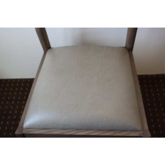 McGuire Fino Side Chair in Gray & Dove - Image 6 of 7