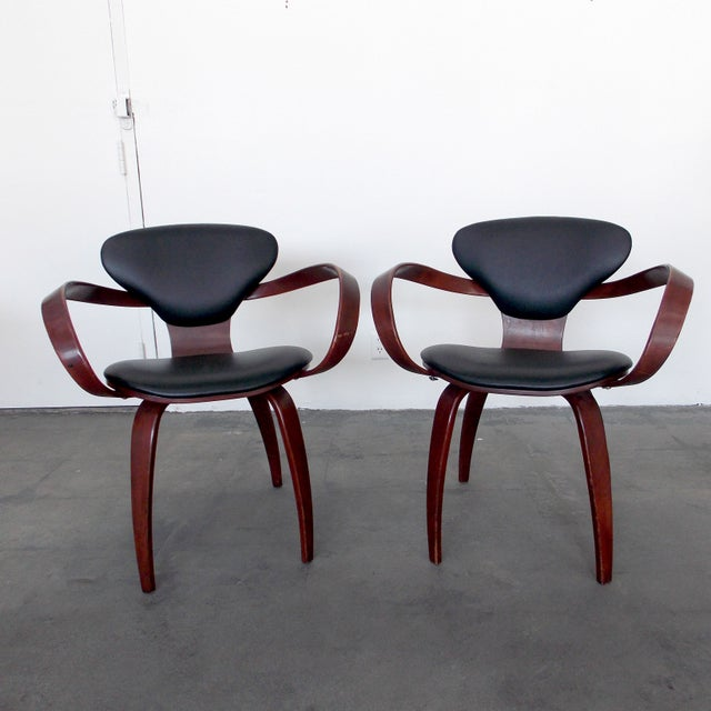 Bentwood Pretzel Arm Chairs - A Pair - Image 2 of 10