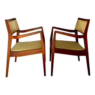 """Jens Risom """"Playboy"""" C140 Chairs- A Pair"""