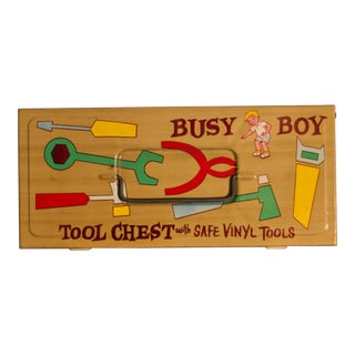 Busy Boy Tool Chest With Vinyl Tools