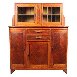 Art Deco Walnut Liquor Cabinet