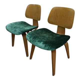 Eames by Herman Miller DCW Chairs - Pair
