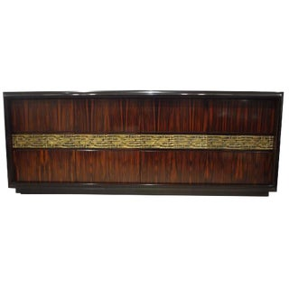 A Low Four Doored Console or Credenza in Palisander by Luciano Frigerio