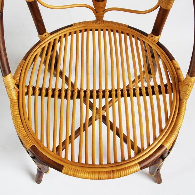 Tall Bamboo Sun Flower Chair - Image 6 of 8