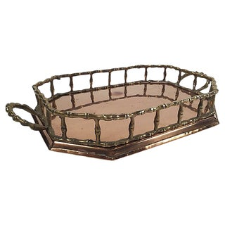 Vintage Copper & Brass Tray