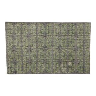 Zeki Muren Distressed Vintage Turkish Sivas Rug - 6′ × 9′7″