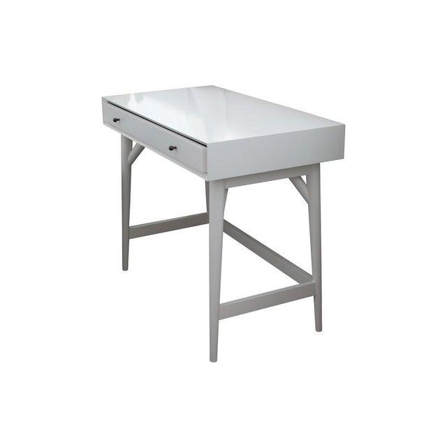Small West Elm Mid-Century Desk - Image 4 of 4
