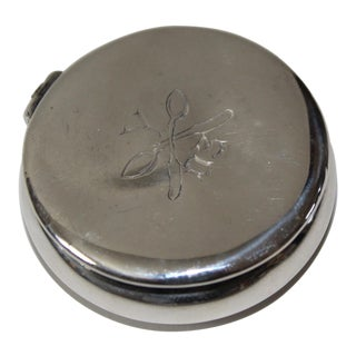 1903 Sterling Silver Antique Box