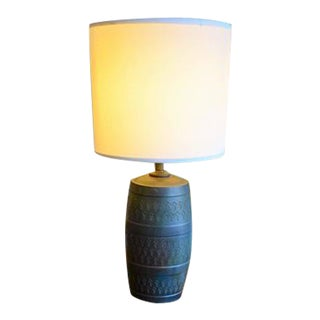 Ceramic Italian Bitossi Table Lamp