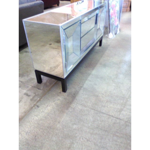 Art Deco Style Mirrored Cabinet/Sideboard - Image 4 of 7
