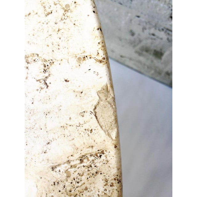 Vintage Travertine Ombre Table - Image 6 of 7