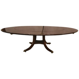 William Tillman Circular Dining Room Table