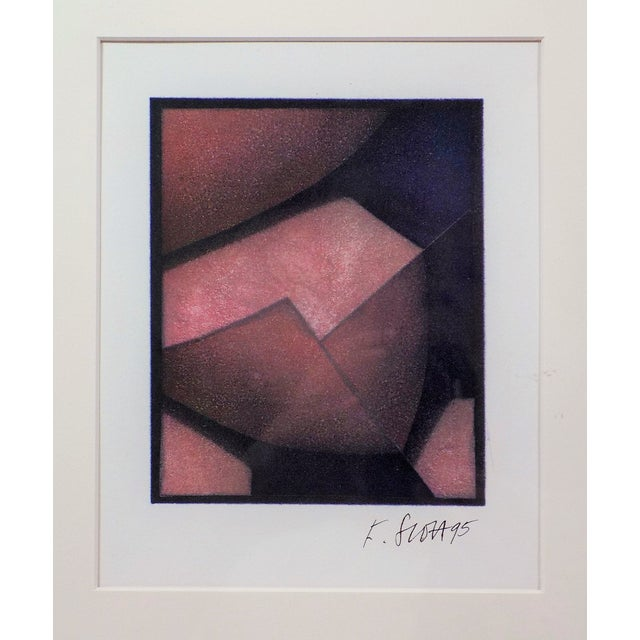 Image of Abstract Art Print Cubism by F Scott