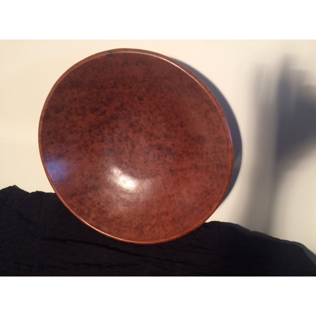 Indonesian Round Serving Bowl - Image 2 of 4