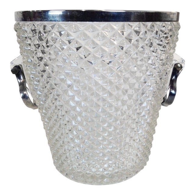 Pressed Glass Champagne Bucket - Image 1 of 8