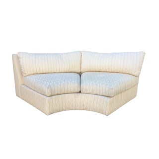 Drexel Pastel Arrow Print Love Seat